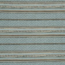 Teal/Bronze Jacquards Drapery and Upholstery Fabric by Mulberry Home