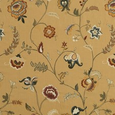 Spice Embroidery Drapery and Upholstery Fabric by Mulberry Home