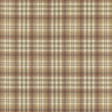 Antique Plaid Drapery and Upholstery Fabric by Mulberry Home