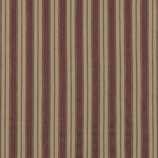 Plum Stripes Drapery and Upholstery Fabric by Mulberry Home