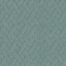 Teal Drapery and Upholstery Fabric by Kasmir