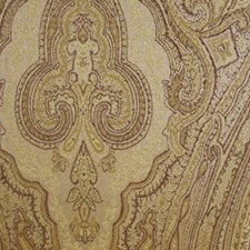 Gold Wine Drapery and Upholstery Fabric by RM Coco