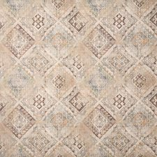 Toffee Ethnic Drapery and Upholstery Fabric by Pindler