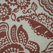 Burgundy/Red/Creme Traditional Drapery and Upholstery Fabric by JF