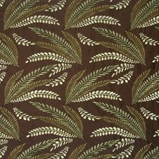 Cocoa Embroidery Drapery and Upholstery Fabric by Kasmir