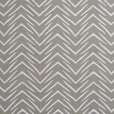 Jute/White Modern Drapery and Upholstery Fabric by Groundworks