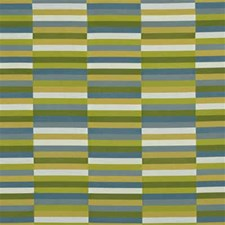 Meadow/Sky Modern Drapery and Upholstery Fabric by Groundworks