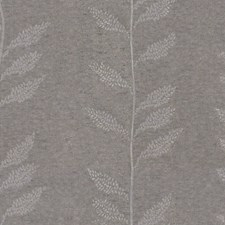 Silver Modern Drapery and Upholstery Fabric by Groundworks