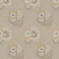 Linen/Graphite Contemporary Drapery and Upholstery Fabric by Groundworks