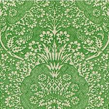 Leaf Medallion Drapery and Upholstery Fabric by Groundworks