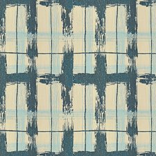 Lake Plaid Drapery and Upholstery Fabric by Groundworks
