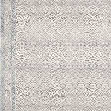 Navy/Blue Ethnic Drapery and Upholstery Fabric by Groundworks