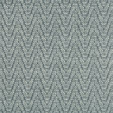 Sea Wave Herringbone Drapery and Upholstery Fabric by Groundworks