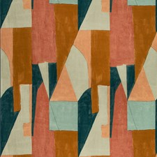Apricot Modern Drapery and Upholstery Fabric by Groundworks