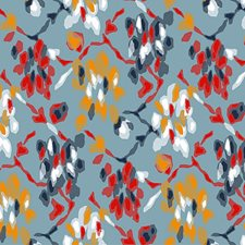 Aurore Drapery and Upholstery Fabric by Scalamandre