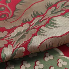 Cramoise Drapery and Upholstery Fabric by Scalamandre