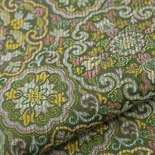 Vert Drapery and Upholstery Fabric by Scalamandre