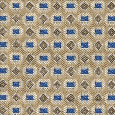 Bengal Blue Drapery and Upholstery Fabric by Kasmir