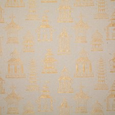 Gilded Damask Drapery and Upholstery Fabric by Pindler
