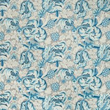 Atlantic Botanical Drapery and Upholstery Fabric by Kravet