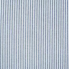 Navy Stripe Drapery and Upholstery Fabric by Pindler