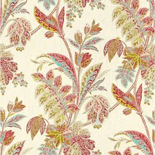 Lotus Print Drapery and Upholstery Fabric by Kravet