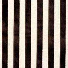 Chocola Stripes Drapery and Upholstery Fabric by G P & J Baker
