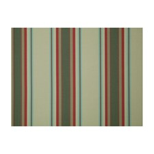 Olive Stripes Drapery and Upholstery Fabric by Brunschwig & Fils