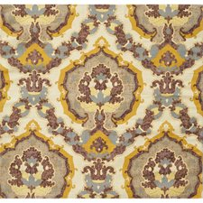 Dusty Gold Damask Drapery and Upholstery Fabric by Brunschwig & Fils