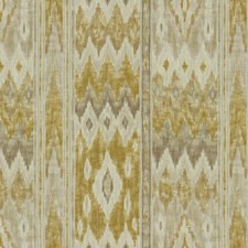 Golden Gray Ikat Drapery and Upholstery Fabric by Kravet