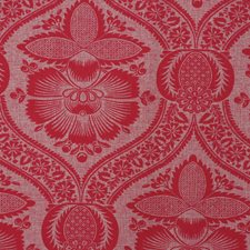Red Drapery and Upholstery Fabric by RM Coco