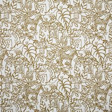 Bronze Crewel Drapery and Upholstery Fabric by Pindler