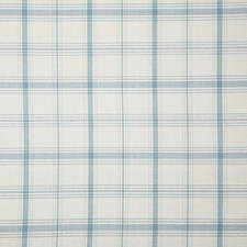 Cornflower Check Drapery and Upholstery Fabric by Pindler
