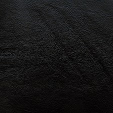 L-Portofin-Black Leather Drapery and Upholstery Fabric by Kravet