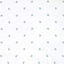 Chambray Sheer Drapery and Upholstery Fabric by Laura Ashley