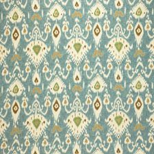 Lapis Ikat Drapery and Upholstery Fabric by Laura Ashley