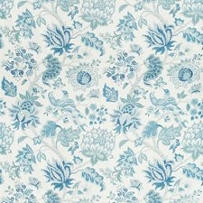Hyacinth Botanical Drapery and Upholstery Fabric by Kravet