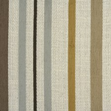 Ivory Stripes Drapery and Upholstery Fabric by Baker Lifestyle
