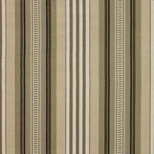 Taupe Stripes Drapery and Upholstery Fabric by Baker Lifestyle