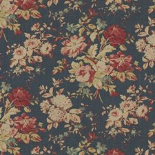 Blue Drapery and Upholstery Fabric by Ralph Lauren