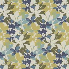 Blue/Green Traditional Drapery and Upholstery Fabric by JF