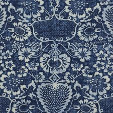 Indigo Drapery and Upholstery Fabric by Ralph Lauren