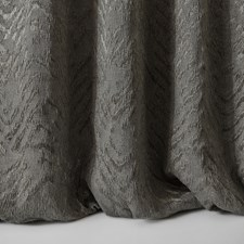 Grey/Charcoal Herringbone Drapery and Upholstery Fabric by Kravet