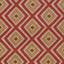 Tomato Drapery and Upholstery Fabric by Kasmir