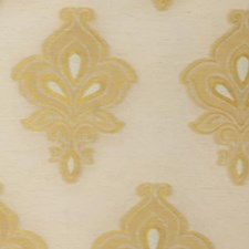 Gold Drapery and Upholstery Fabric by RM Coco