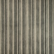 Charcoal/Light Grey Stripes Drapery and Upholstery Fabric by Kravet