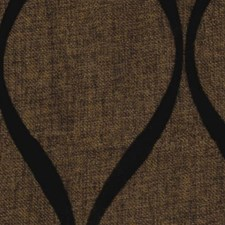 Copper/Chocolate Drapery and Upholstery Fabric by RM Coco