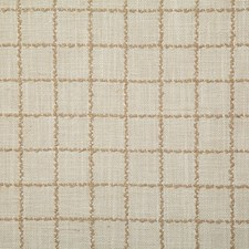 Cream Check Drapery and Upholstery Fabric by Pindler