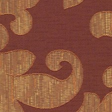 Cinnabar Drapery and Upholstery Fabric by RM Coco