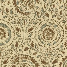 Woodsmoke Ethnic Drapery and Upholstery Fabric by Baker Lifestyle